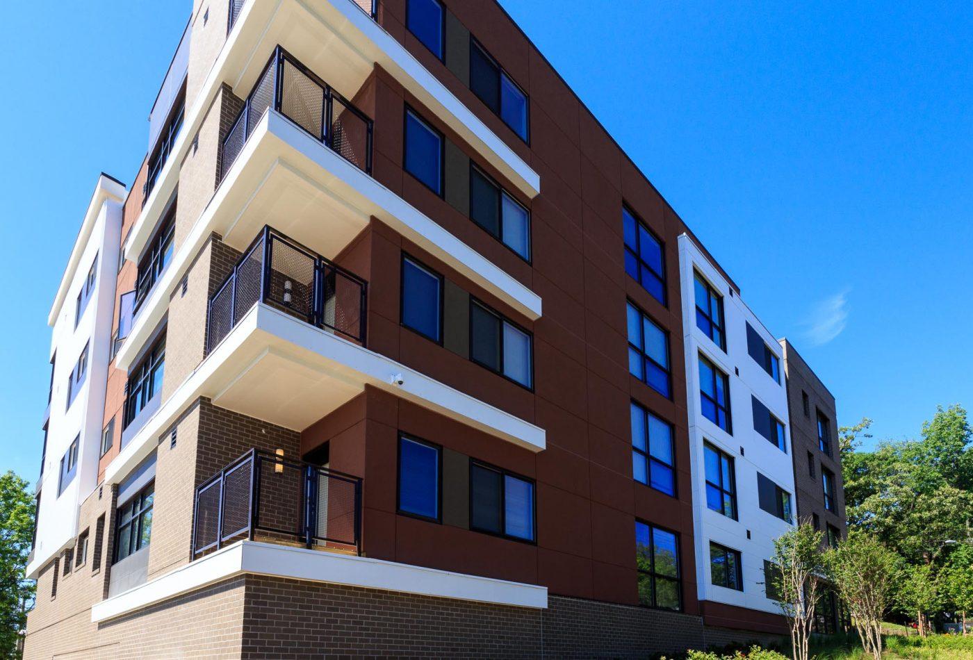 Girard Street Apartments Exterior
